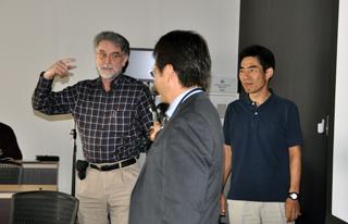 Doctors Arbuthnott, Yamada, and Doya