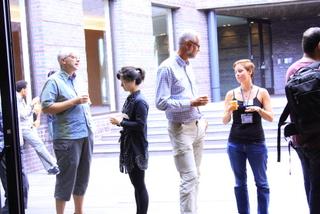 informal conversations between young researchers and principal investigators